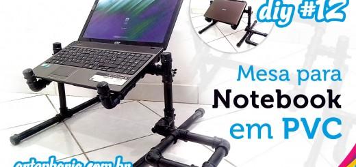 mesa para notebook em pvc