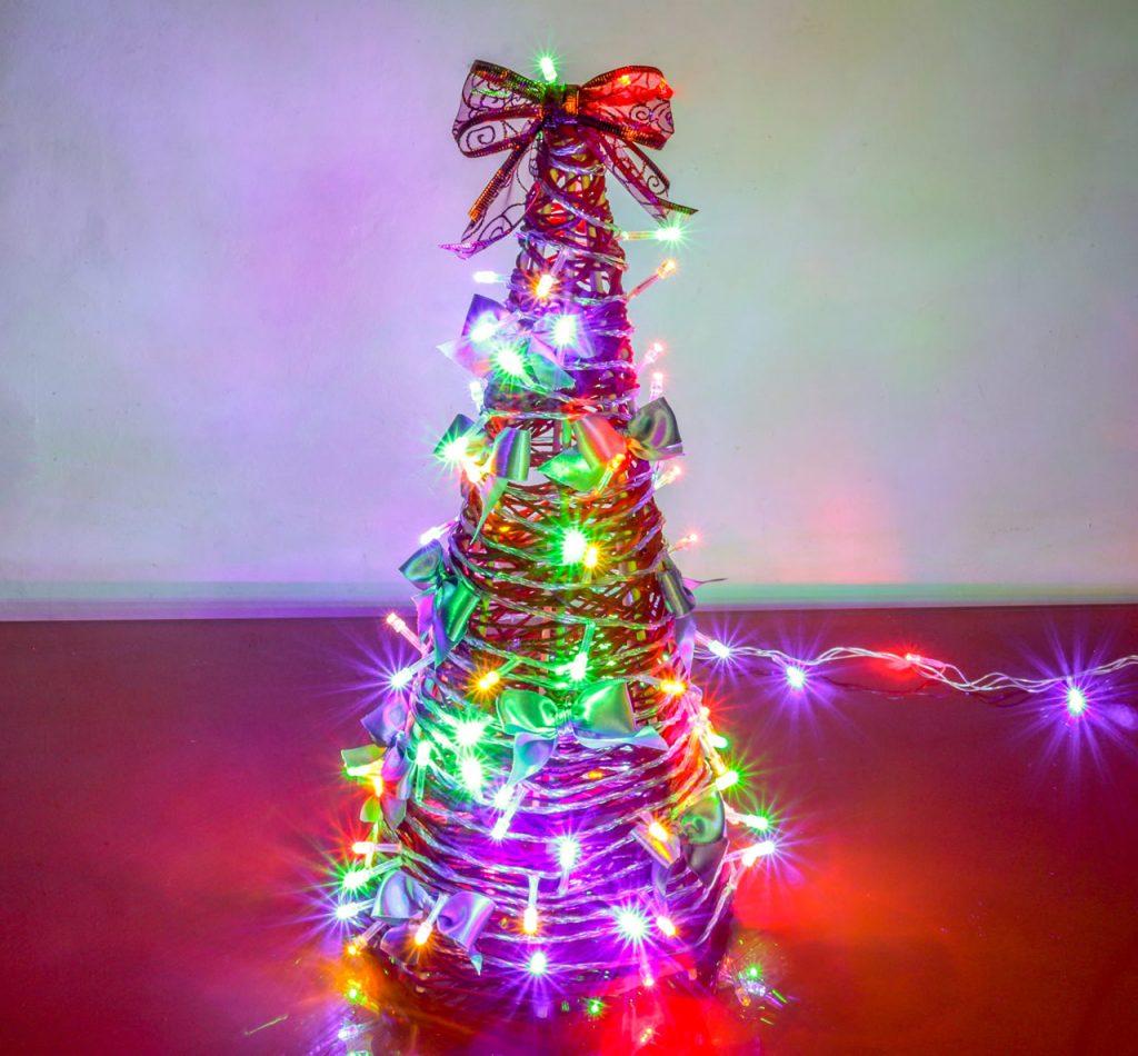 Árvore de Natal de Barbante Artenharia